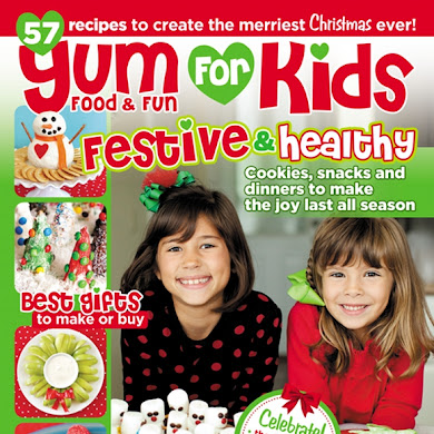 Holiday Kids' Tables for Yum Food Magazine