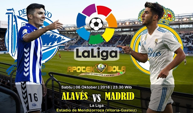 Prediksi Deportivo Alaves VS Real Madrid 6 Oktober 2018