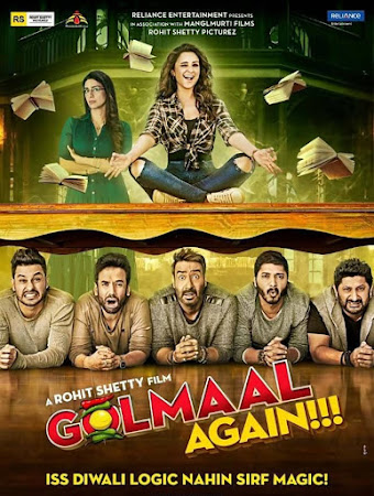 Golmaal Again (2017) Hindi DVDRip 720p 950MB ESubs MKV