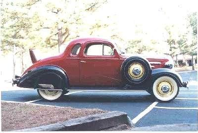 Shipslog sometimes your just have to get it done for 1936 chevy 2 door