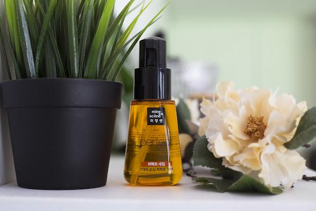 Korean hair oil