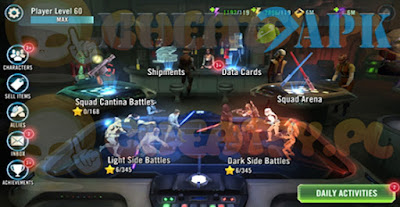 Game play Game Star Wars Galaxy of Heroes Full MOD