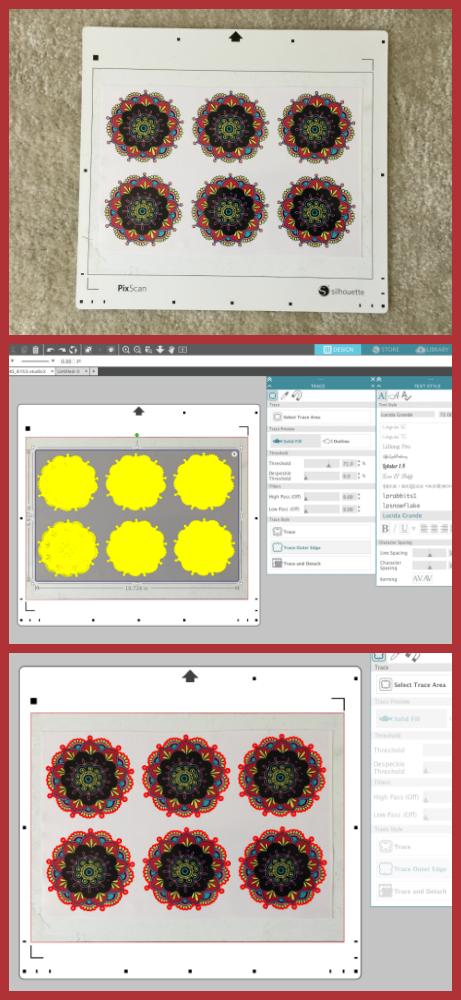 silhouette studio v4, silhouette studio v4.1, tracing in silhouette studio, silhouette pixscan help