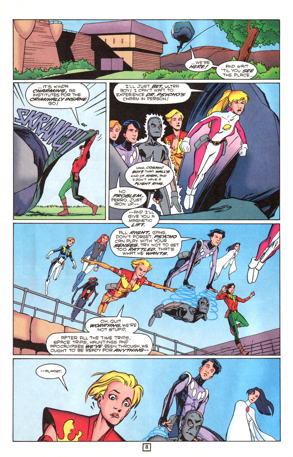 Legion of Super-Heroes (1989) 90 Page 8