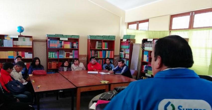 SUNASS: Colegios de Chiara y Pacaycasa en Ayacucho realizarán proyectos para cuidar el agua en concurso escolar que organiza la Superintendencia Nacional de Servicios de Saneamiento - www.sunass.gob.pe
