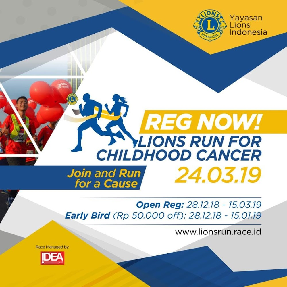 Lions Run for Childhood Cancer • 2019