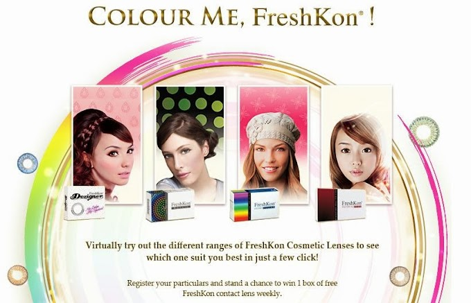 COLOR ME, FRESHKON!