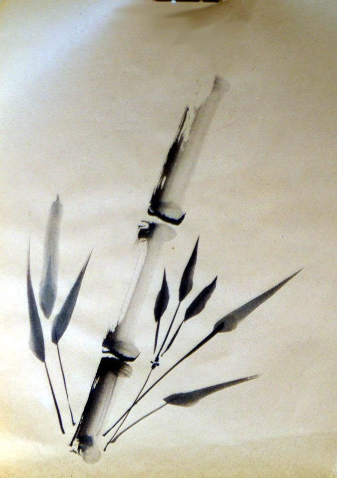 bamboo drawing - photo #10