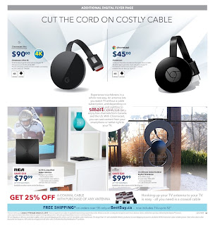 Best Buy Weekly Flyer and Circulaire January 19 - 25, 2018