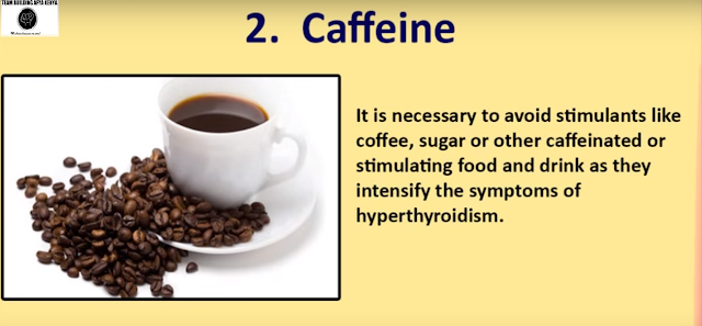 Food to avoid hyperthyroidism