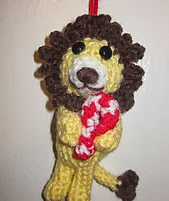 http://www.ravelry.com/patterns/library/lion-christmas-ornament