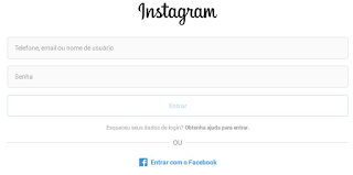 Como fazer login agora mesmo no Instagram