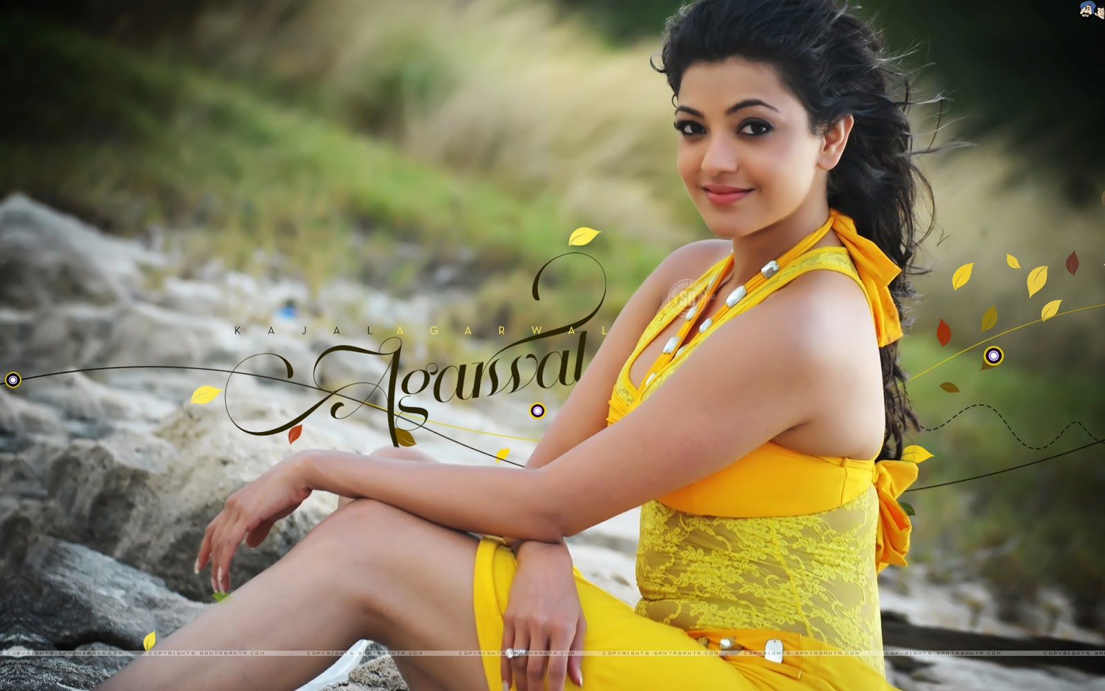 100%Hdwallpapers: Kajal Agarwal HD Wallpapers Free Download