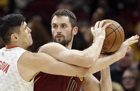 NBA: James dan Love Beri Cavaliers Kemenangan ke-20