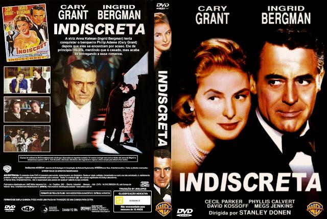 Capa DVD Indiscreta