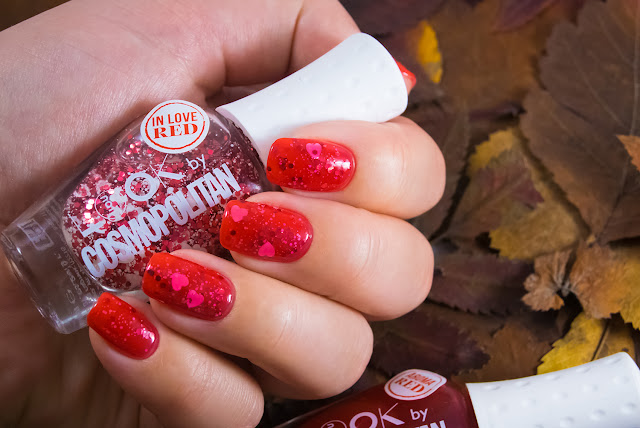 Naillook by Cosmopolitan 31447 Red in Love