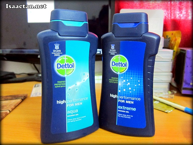 Dettol High Performance For Men Shower Gel