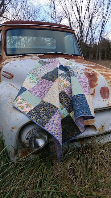 Rifle Paper Co./Cotton and Steel Menagerie quilt
