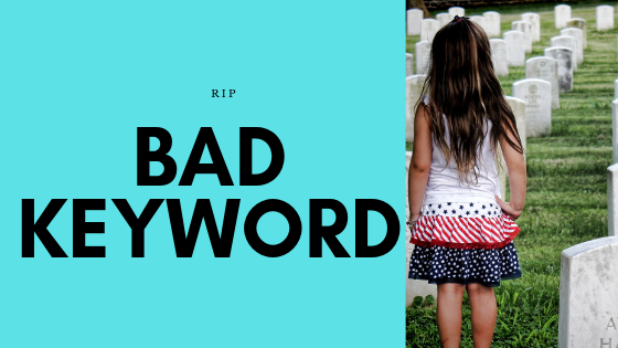 Rest In Peace Bad Keyword