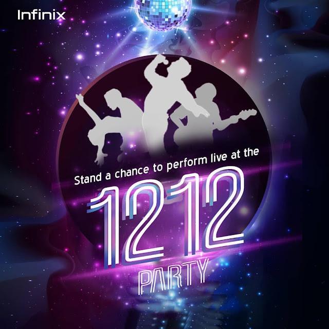 #Infinix1212Party The Infinix Xclub Talent Hunt