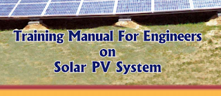 Training Manual For Solar PV System