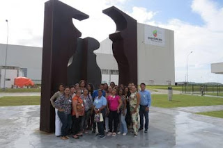 O Boticário promove campanha de incentivo em sua fábrica em Camaçari