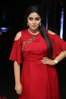 Poorna in Maroon Dress at Rakshasi movie Press meet Cute Pics ~  Exclusive 135.JPG