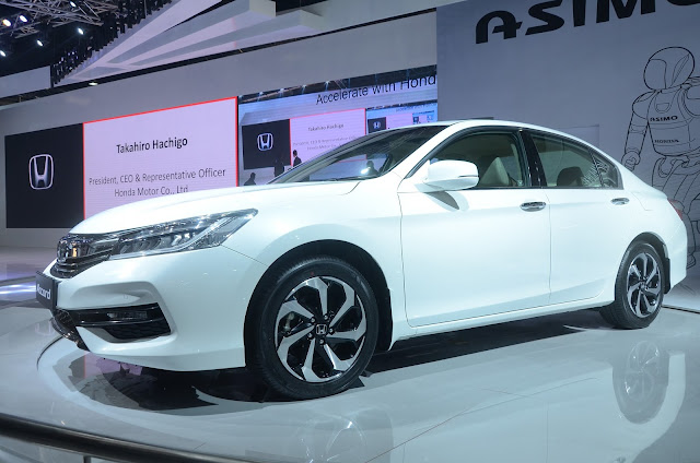 All new Honda Accord at Auto Expo New Delhi 2016
