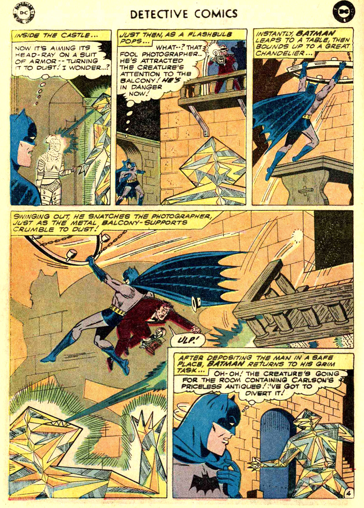 Read online Detective Comics (1937) comic -  Issue #272 - 6