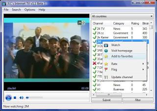 برنامج صغير وخفيف لتشغيل القنوات العربية والعالمية ويمكنك إضافة قنوات بفسك أيضا