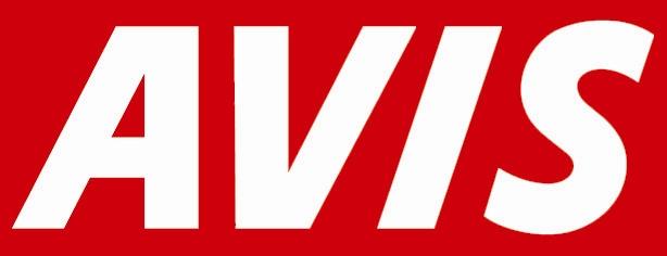 History Of All Logos: All Avis Logo