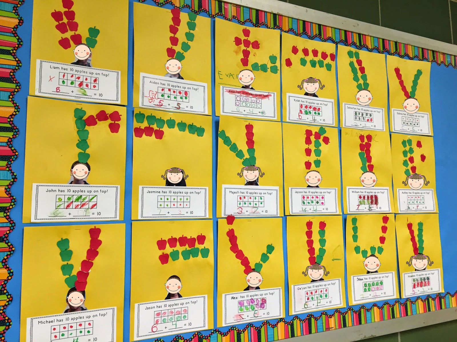 Mrs Ricca S Kindergarten Pumpkins And Apples And Leaves