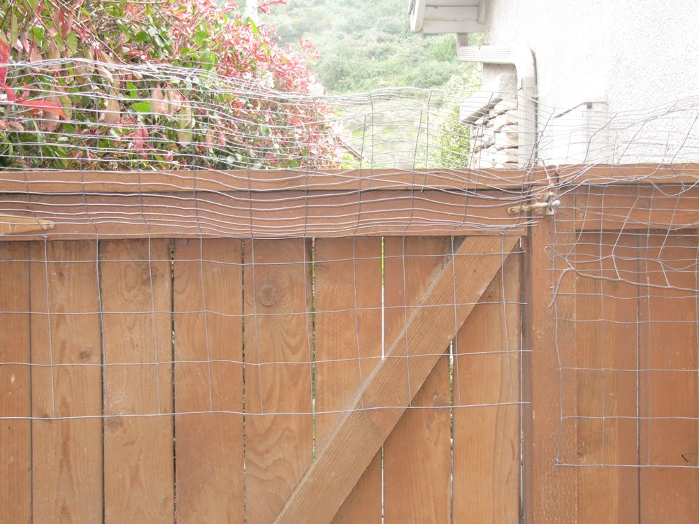 This is beige kittytown or do it yourself cat fencing