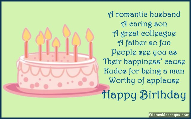 Happy Birthday Wishes Quotes For Husband A Romantic Caring Son