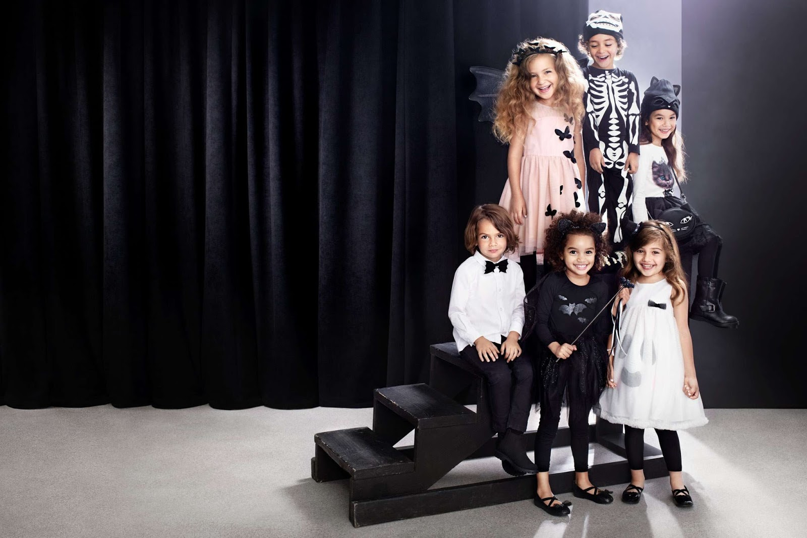 Hm Halloween.More Treat Than Trick Stylish Halloween Style For Kids At