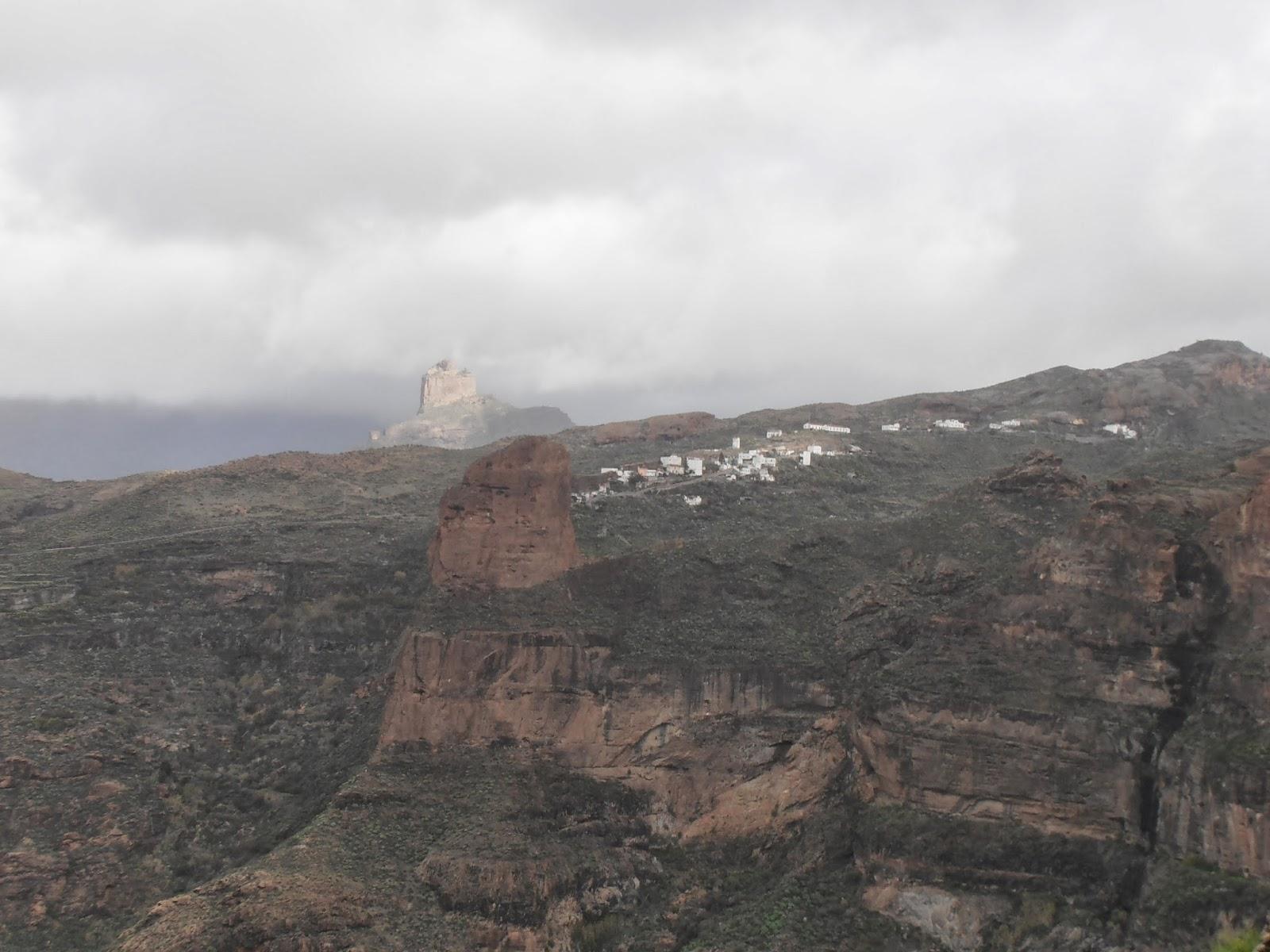 Roques Palmés y Bentayga