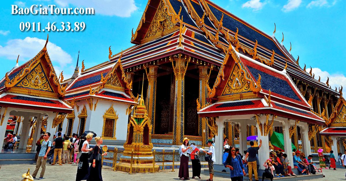 Báo giá tour Thái Lan tháng 12 trọn gói trong 5 ngày 4 đêm