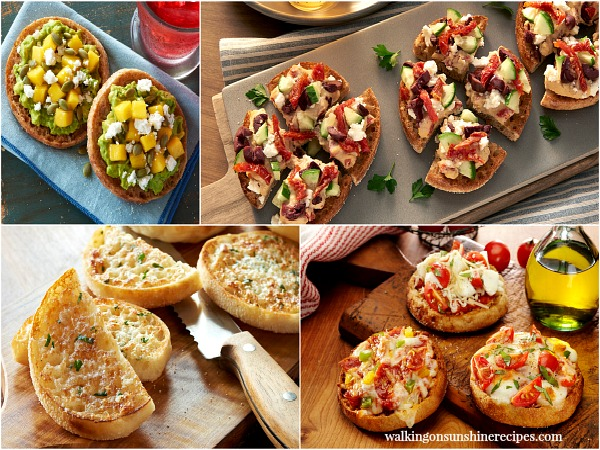 English Muffins are not just for breakfast any more from Walking on Sunshine.