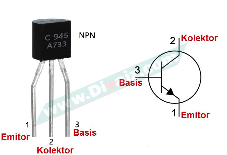 letak-kaki-transistor-c945