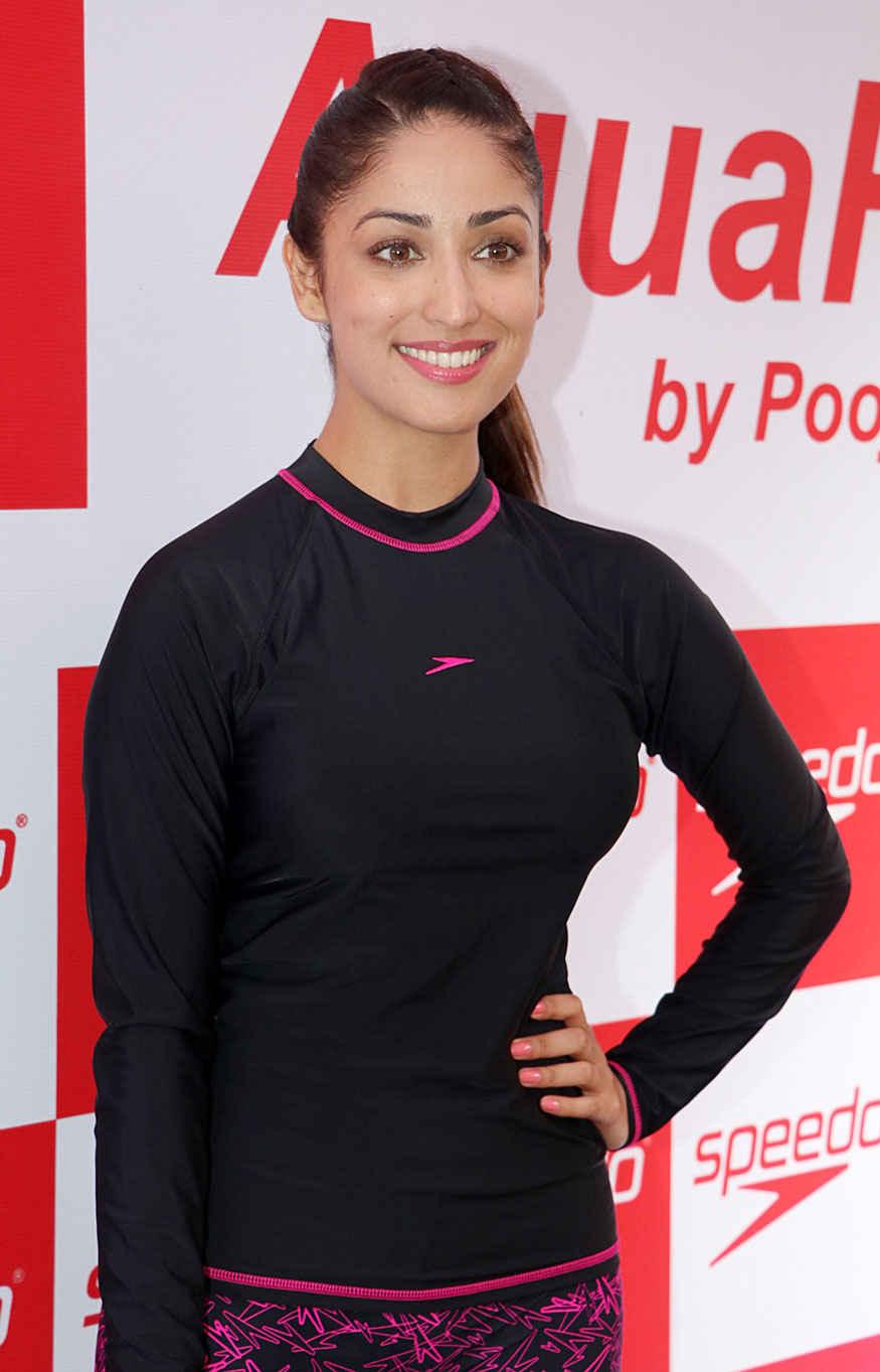 Yami Gautam Launches Speedo Aqua Fit In Mumbai