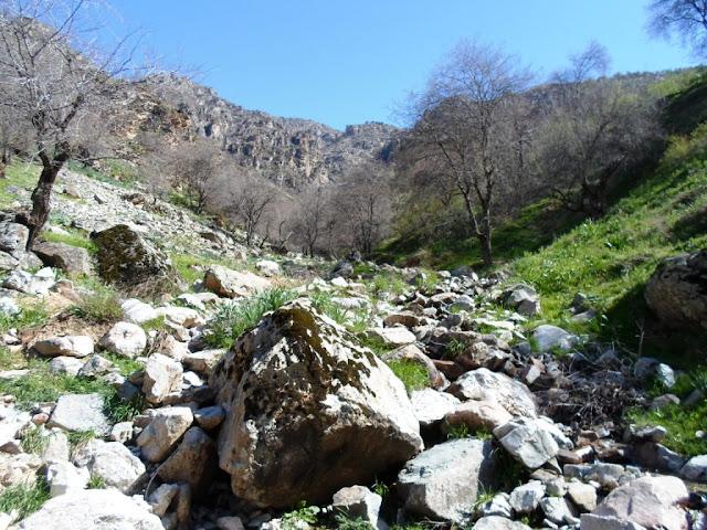 Водопад в ущелье 21 километр, Варзоб, Горы Таджикистана - фото-обзор похода
