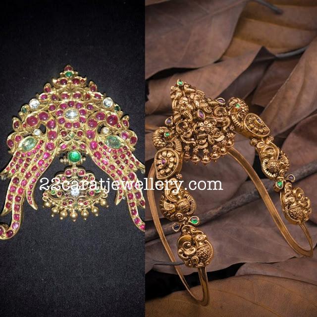 Heavy Kundan and Nakshi Vanki