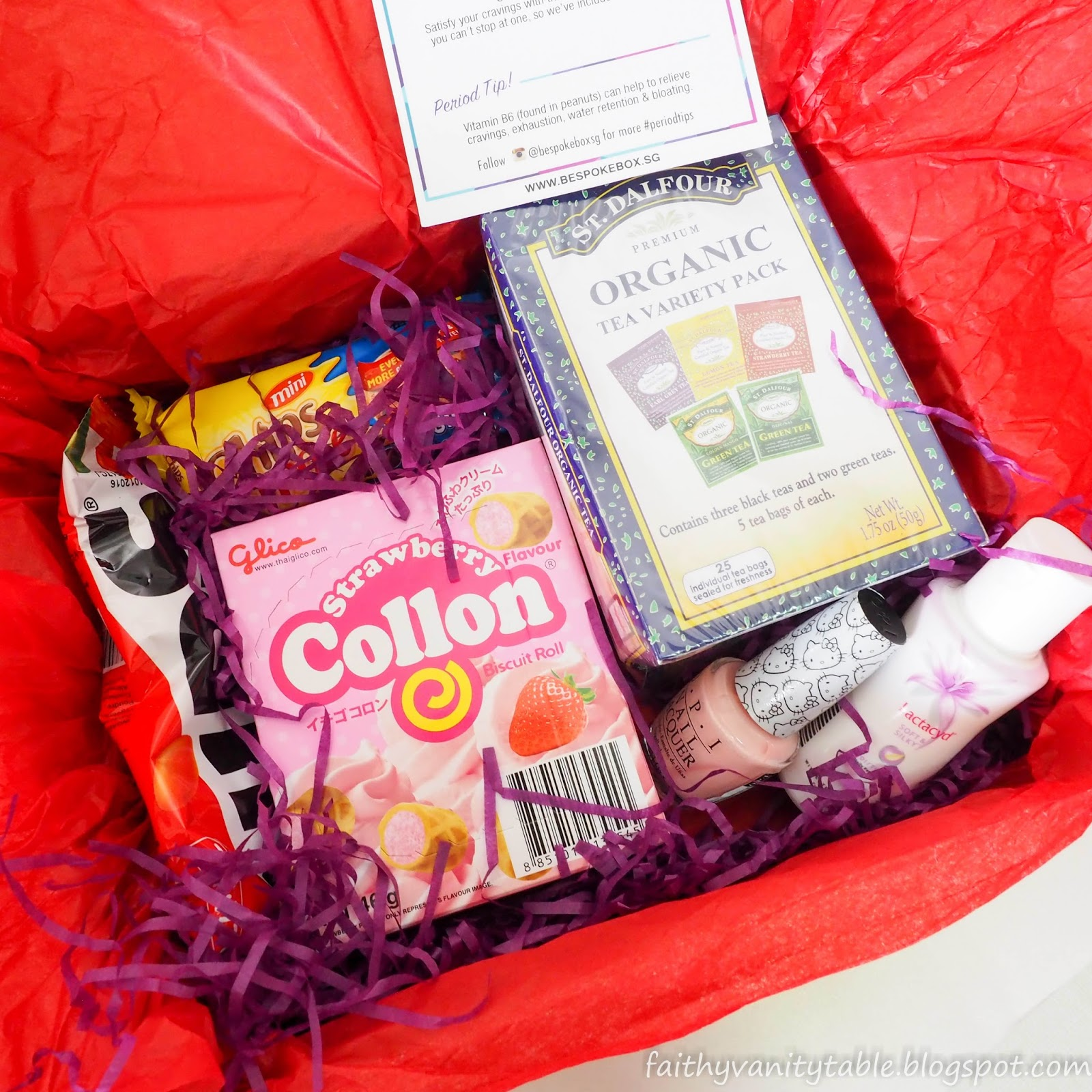 Singapore Beauty Travel And Lifestyle Blog Review Of Bespoke Box