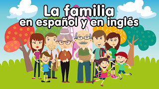 CANCION DE LA FAMILIA EN INGLES