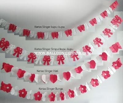Slinger Kertas Merah Putih