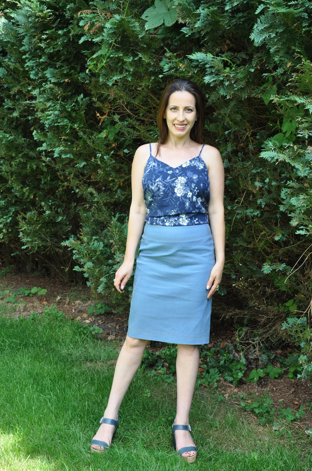 475ee4d4f7 Calcedonia Sewing: Extra Sharp Pencil Skirt-Liesl+co