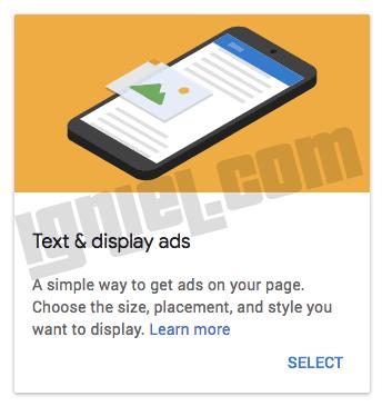 Jenis Iklan AdSense Hanya Tulisan Saja