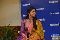 Keerthi Suresh Cute at Facebook Hyd HeyAndhra