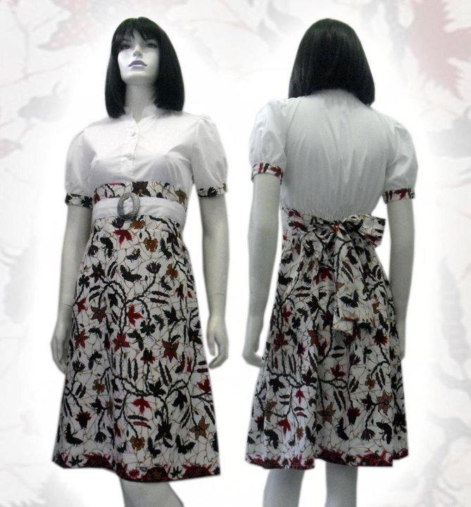 Model Baju Batik Wanita - Desain Terbaru Modern | Receipt