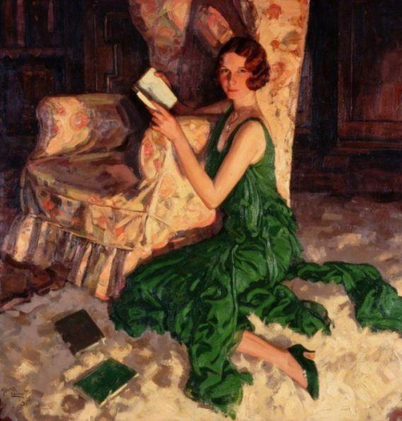 Лэмбарт  Альфред (Lambart, Alfred J.)  Джуллиет, дочь Ричарда Х. Фокса из Суррея (1931)